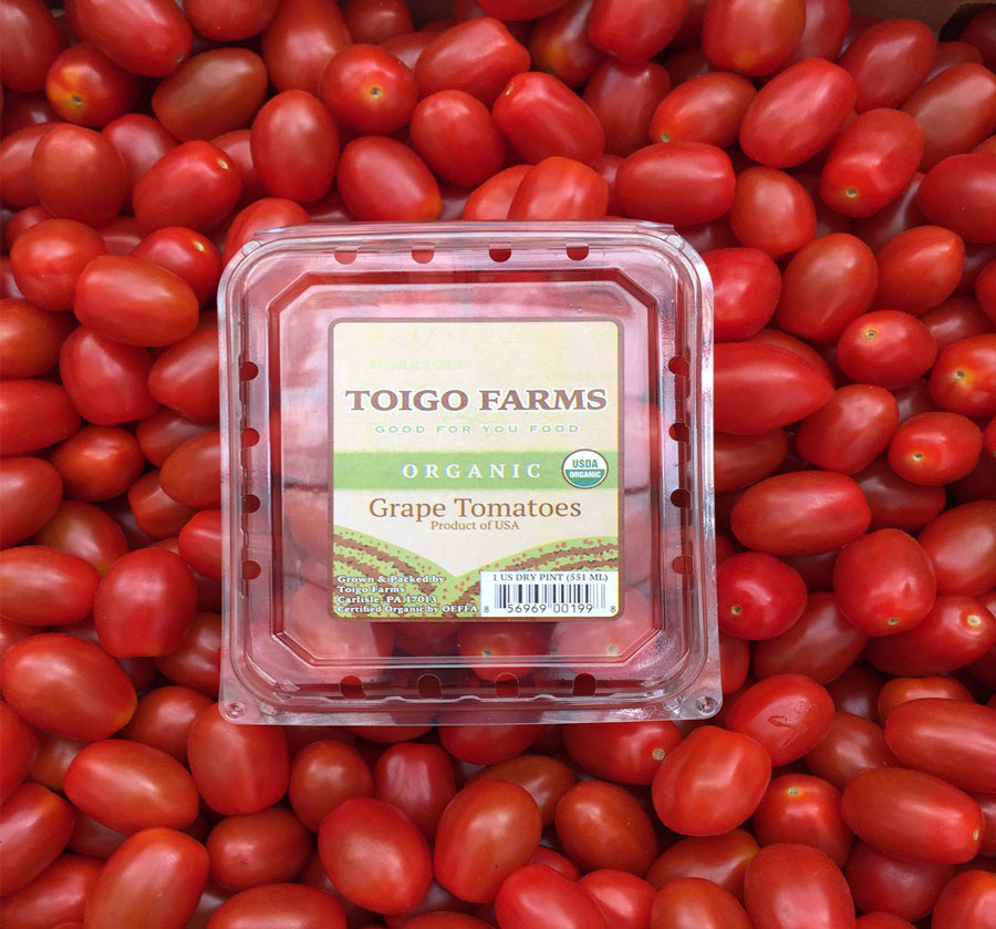 Toigo Farms Organic Grape Tomatoes